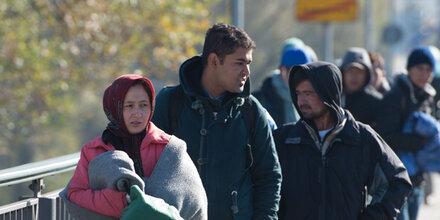 Keine Ruhr-Erkrankung bei Flüchtlings-Frau