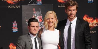 Mockingjay 2: Jennifer Lawrence, Josh Hutcherson, Liam Hemsworth