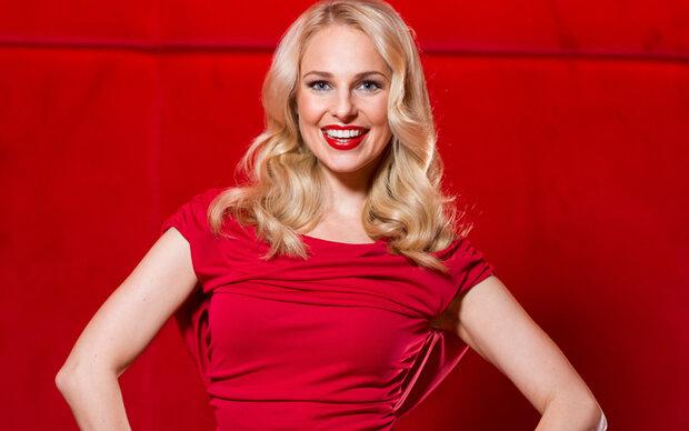 Silvia Schneider im Weihnachts-Talk