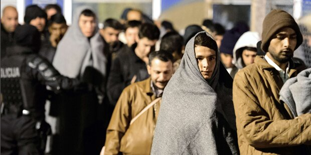 Beschränkung der Flüchtlingsankünfte
