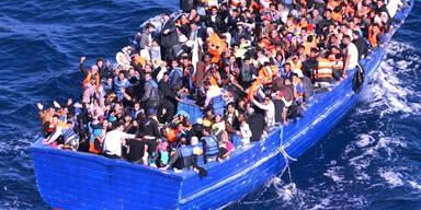 4.600 Flüchtlinge im Mittelmeer gerettet