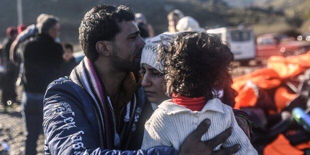 Lesbos ist Epizentrum der Flüchtlingskrise