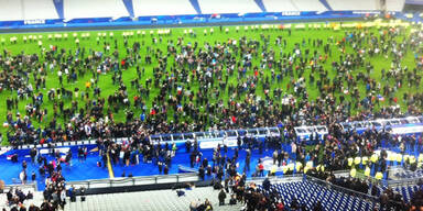 Paris: DFB-Team übernachtete im Stadion