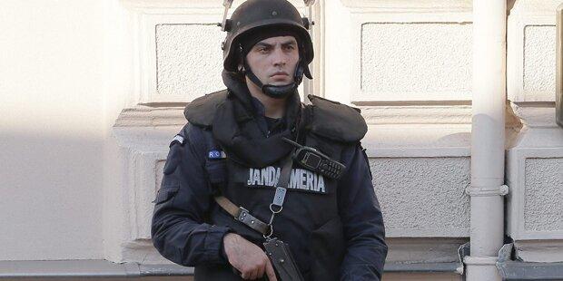 91 Flüchtlinge in Lkw in Rumänien entdeckt
