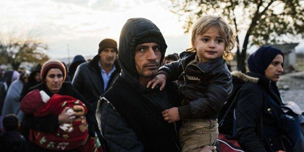 Flüchtlingszustrom ging unvermindert weiter