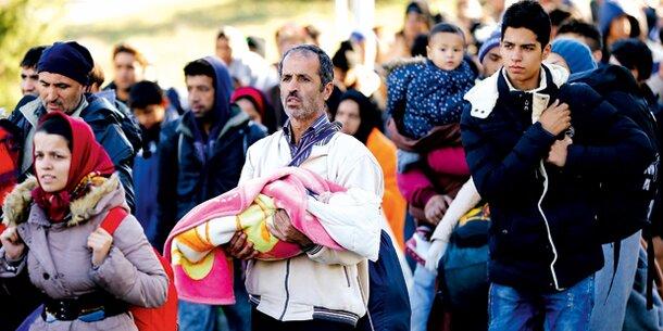 Flüchtlinge Erschossen