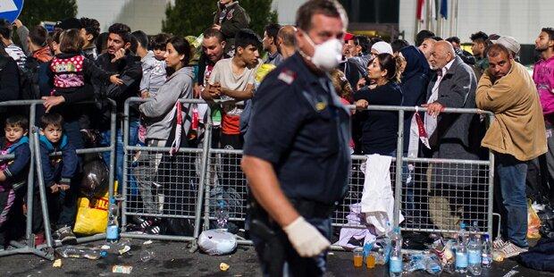Ruhr-Verdacht: Flüchtlinge in Quarantäne