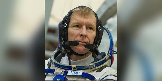 Astronaut plant Marathon im Weltall