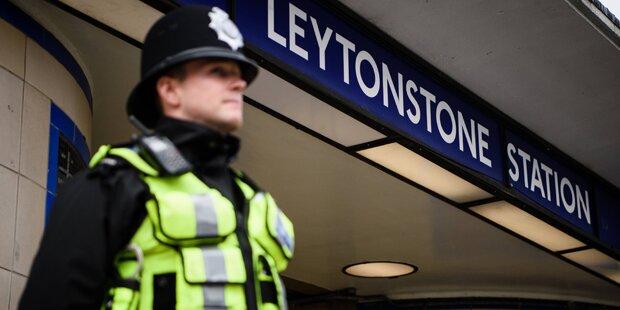 Polizei in London: