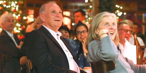Hoeneß: Weihnachten daheim, im Februar frei