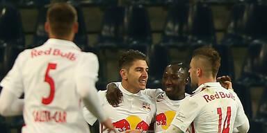 Red Bull Salzburg besiegt Rapid