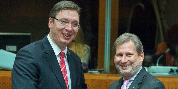 EU verhandelt mit Serbien über Beitritt