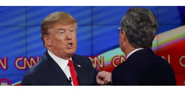 Trump und Bush bekriegen sich im TV