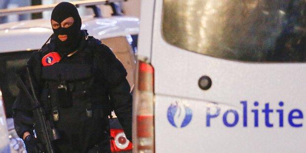 Terror in Belgien: Vier Verdächtige festgenommen