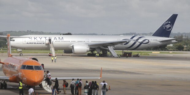 Bomben-Alarm auf Air-France Flug