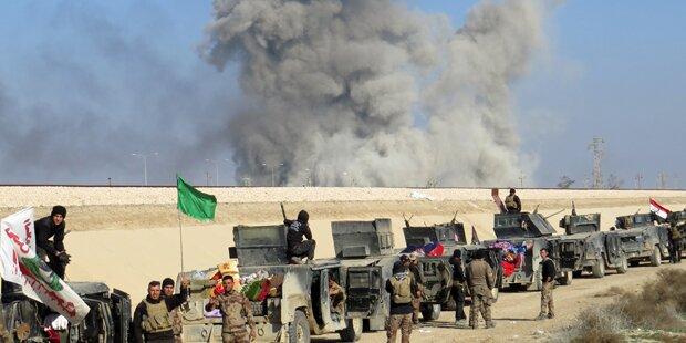 IS-Hochburg Ramadi größtenteils befreit