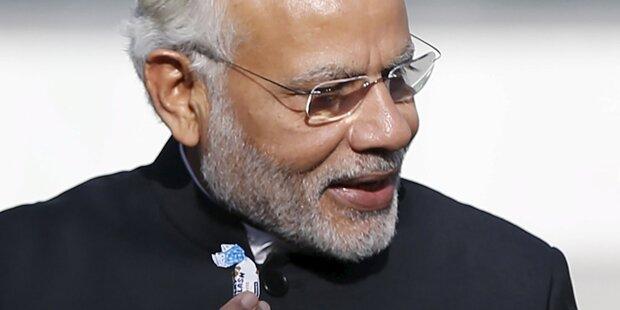 Indischer Premier in Pakistan eingetroffen