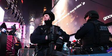 Alarmstufe Rot zu Silvester in New York