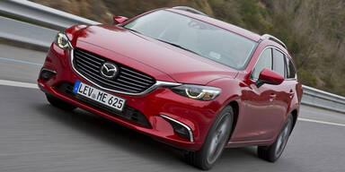 """""""Neuer"""" Mazda6 und CX-5 starten"""