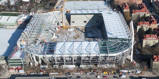 Rapid: Stadion fast fertig