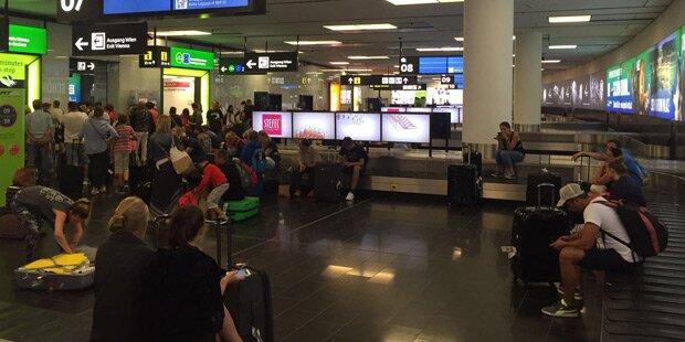 Bomben-Alarm am Flughafen Wien