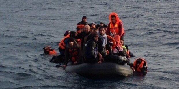 In 10 Tagen 4.800 Menschen aus Ägais gerettet