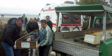 Polizei fand 21 Tote an Ägäis-Stränden