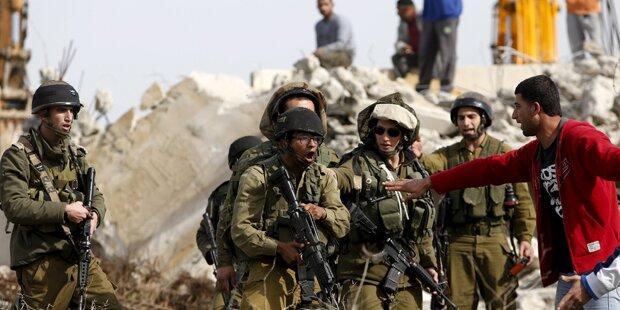 Heftige Zusammenstöße in Hebron