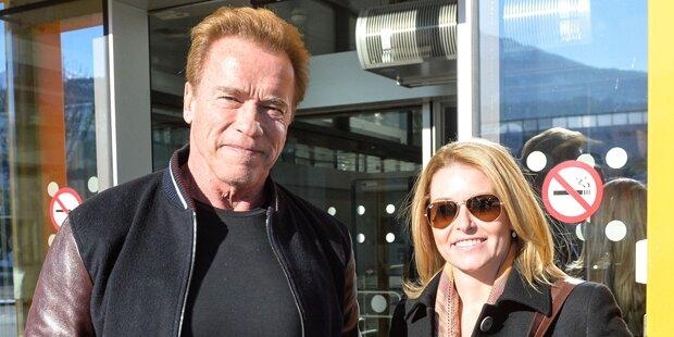 Arnie in Innsbruck gelandet