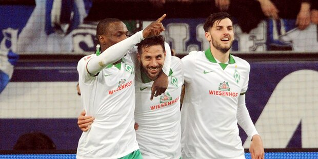 Junuzovic' Bremer überraschen auf Schalke