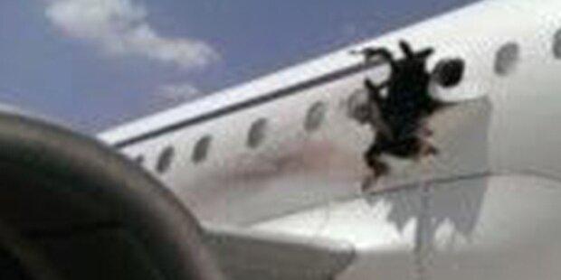 Passagier wurde aus Airbus geschleudert