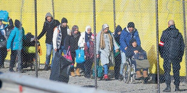Jetzt kommen 10 Grenz-Sperren