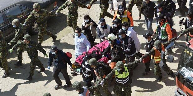 Taiwan: Zwei Menschen aus Trümmern gerettet
