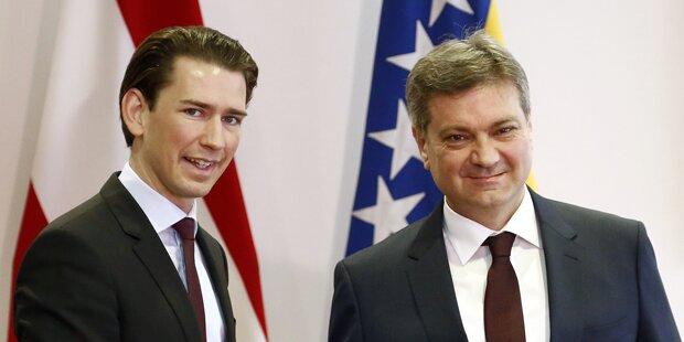 Kurz: Grenzschließung würde Balkan überfordern