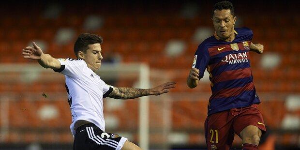 Barca kickt Rapid Gegner aus dem Cup