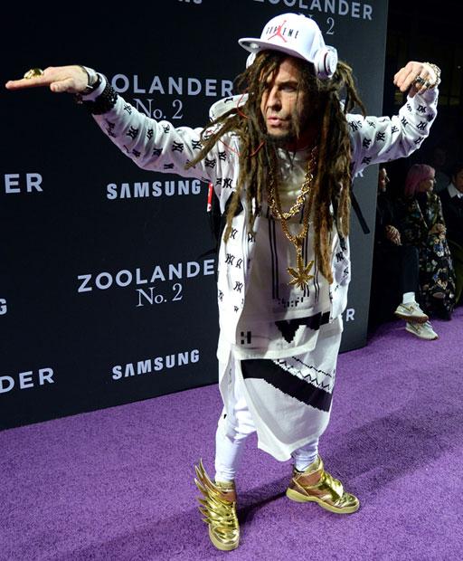 Justin Theroux auf der Zoolander-Premiere in New York