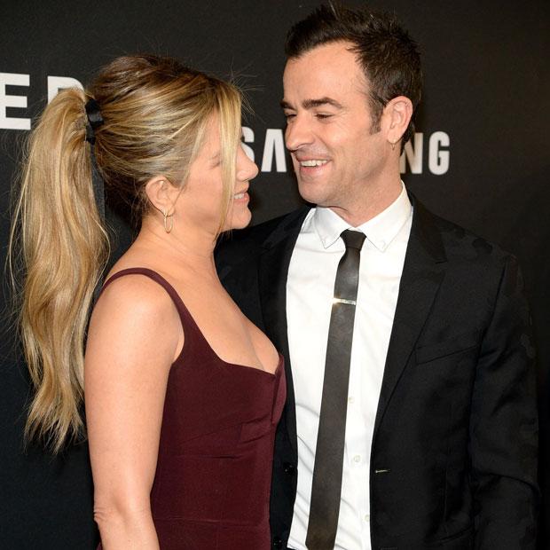Justin Theroux & Jennifer Aniston auf der Zoolander-Premiere in New York