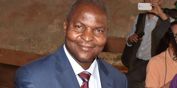 Touadera siegte bei Präsidentenwahl in Zentralafrikanischer Republik