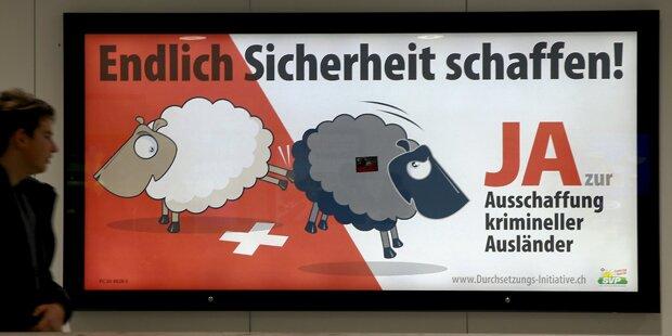 Schweizer entscheiden über kriminelle Ausländer