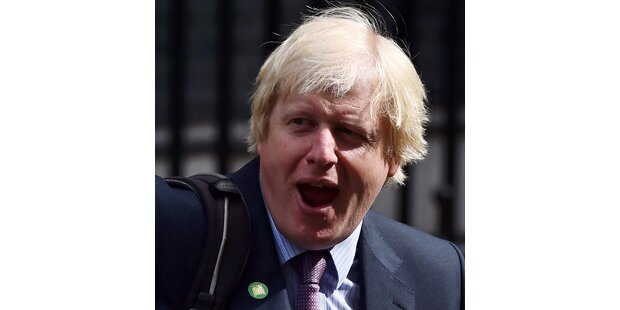 Boris Johnsons Jet musste notlanden
