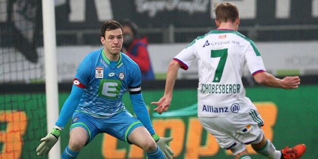 2:0! Rapid siegt gegen Sturm Graz