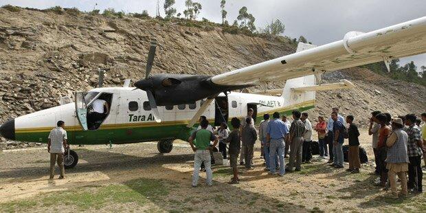 Verschollenes Flugzeug ist abgestürzt