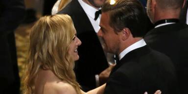 Oscars: Kate Winslet & Leo DiCaprio