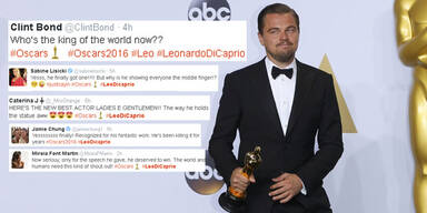 Oscars: Leo DiCaprio wird im Netz gefeiert