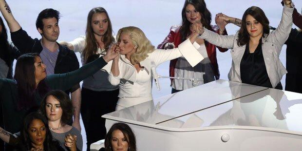 Gaga: Oscar-Show als mutiges Statement