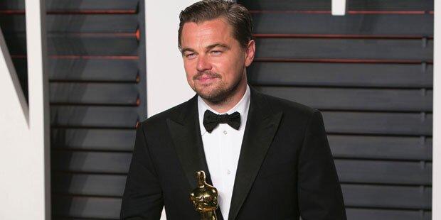 DiCaprio: So feierte er seinen Oscar