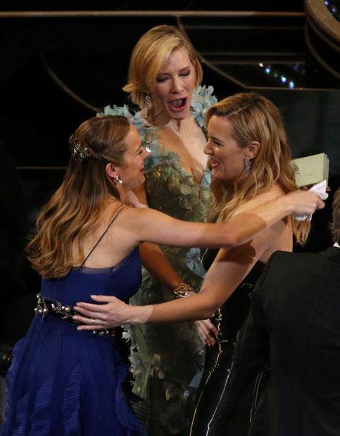 Oscars: Kate Winslet, Cate Blanchett und Brie Larson