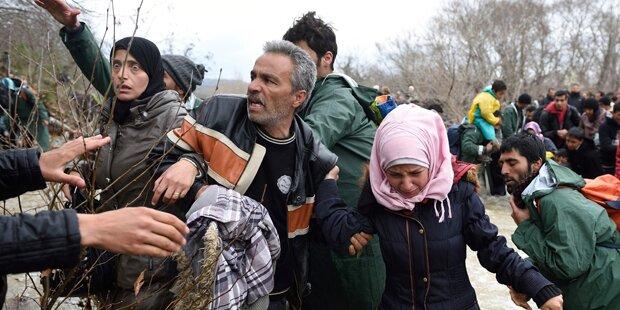 Mazedonien: Hunderte Flüchtlinge von Armee gestoppt