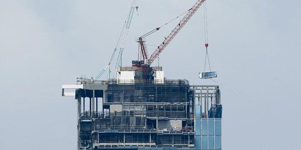 Bauarbeiter stürzte von Wolkenkratzer-tot