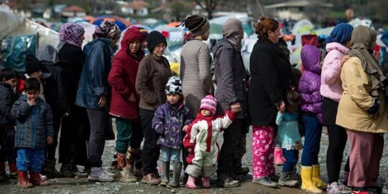 Immer mehr Flüchtlinge auf der Balkanroute